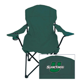 Deluxe Green Captains Chair-Spartans U