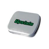 Silver Rectangular Peppermint Tin-Upstate