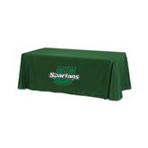 Dark Green 6 foot Table Throw-Spartans U