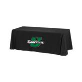 Black 6 foot Table Throw-Spartans U