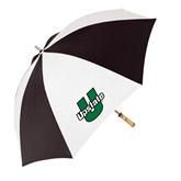 62 Inch Black/White Umbrella-Upstate U