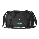 High Sierra Black Switch Blade Duffel-Spartans U