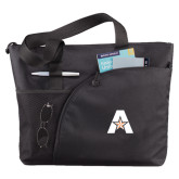 Excel Black Sport Utility Tote-A with Star