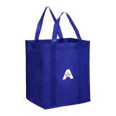 Non Woven Royal Grocery Tote-A with Star