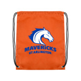 Orange Drawstring Backpack-Primary Mark