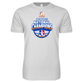 Next Level SoftStyle White T Shirt-Movin Mavs NWBA National Champions