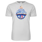 Next Level SoftStyle White T Shirt-Movin Mavs NWBA National Champions
