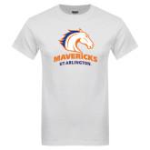 White T Shirt-Mavericks