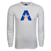 White Long Sleeve T Shirt-A with Star