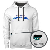Contemporary Sofspun White Hoodie-UTA Mavericks stacked