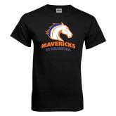 Black T Shirt-Mavericks