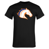 Black T Shirt-Horse Head