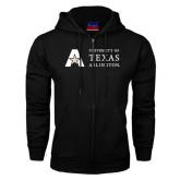 Black Fleece Full Zip Hood-Secondary Mark