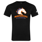Adidas Black Logo T Shirt-Mavericks