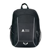 Atlas Black Computer Backpack-Secondary Mark