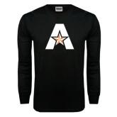 Black Long Sleeve TShirt-A with Star