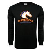Black Long Sleeve TShirt-Mavericks