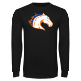 Black Long Sleeve T Shirt-Horse Head