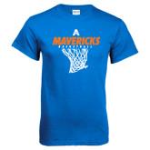 Royal Blue T Shirt-Basketball Net