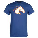 Royal Blue T Shirt-Horse Head