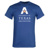 Royal T Shirt-University of Texas Arlington Stacked