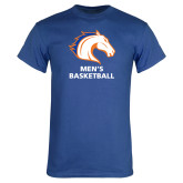 Royal Blue T Shirt-Mens Basketball