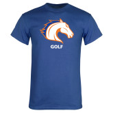 Royal Blue T Shirt-Golf