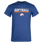 Royal T Shirt-Softball Shelf