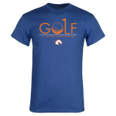 Royal Blue T Shirt-Golf Hole
