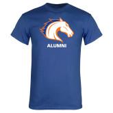 Royal Blue T Shirt-Alumni