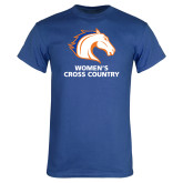 Royal T Shirt-Womens Cross Country
