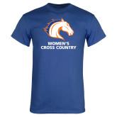 Royal Blue T Shirt-Womens Cross Country