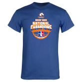 Royal T Shirt-Movin Mavs NWBA National Champions