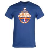 Royal Blue T Shirt-Movin Mavs NWBA National Champions