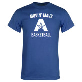 Royal T Shirt-Wheelchair Basketball