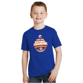 Youth Royal T Shirt-Movin Mavs NWBA National Champions