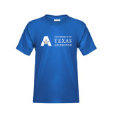 Youth Royal Blue T Shirt-Secondary Mark