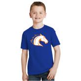 Youth Royal T Shirt-Horse Head
