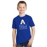Youth Royal T Shirt-University of Texas Arlington Stacked