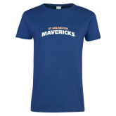 Ladies Royal T Shirt-UTA Mavericks stacked