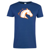 Ladies Royal T Shirt-Horse Head