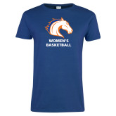 Ladies Royal T Shirt-Mens Basketball