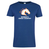 Ladies Royal T Shirt-Womens Cross Country