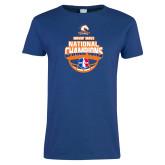 Ladies Royal T Shirt-Movin Mavs NWBA National Champions