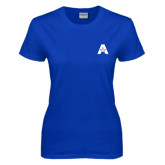 Ladies Royal T Shirt-A with Star