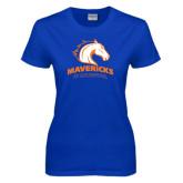 Ladies Royal T Shirt-Mavericks