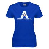 Ladies Royal T Shirt-Womens Basketball