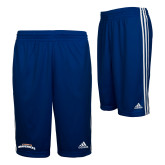 Adidas Climalite Royal Practice Short-UTA Mavericks stacked