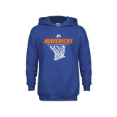 Youth Royal Fleece Hoodie-Basketball Hanging Net