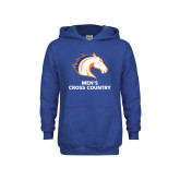 Youth Royal Fleece Hoodie-Mens Cross Country